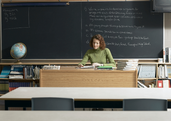 Can Teachers Teach without a lesson plan